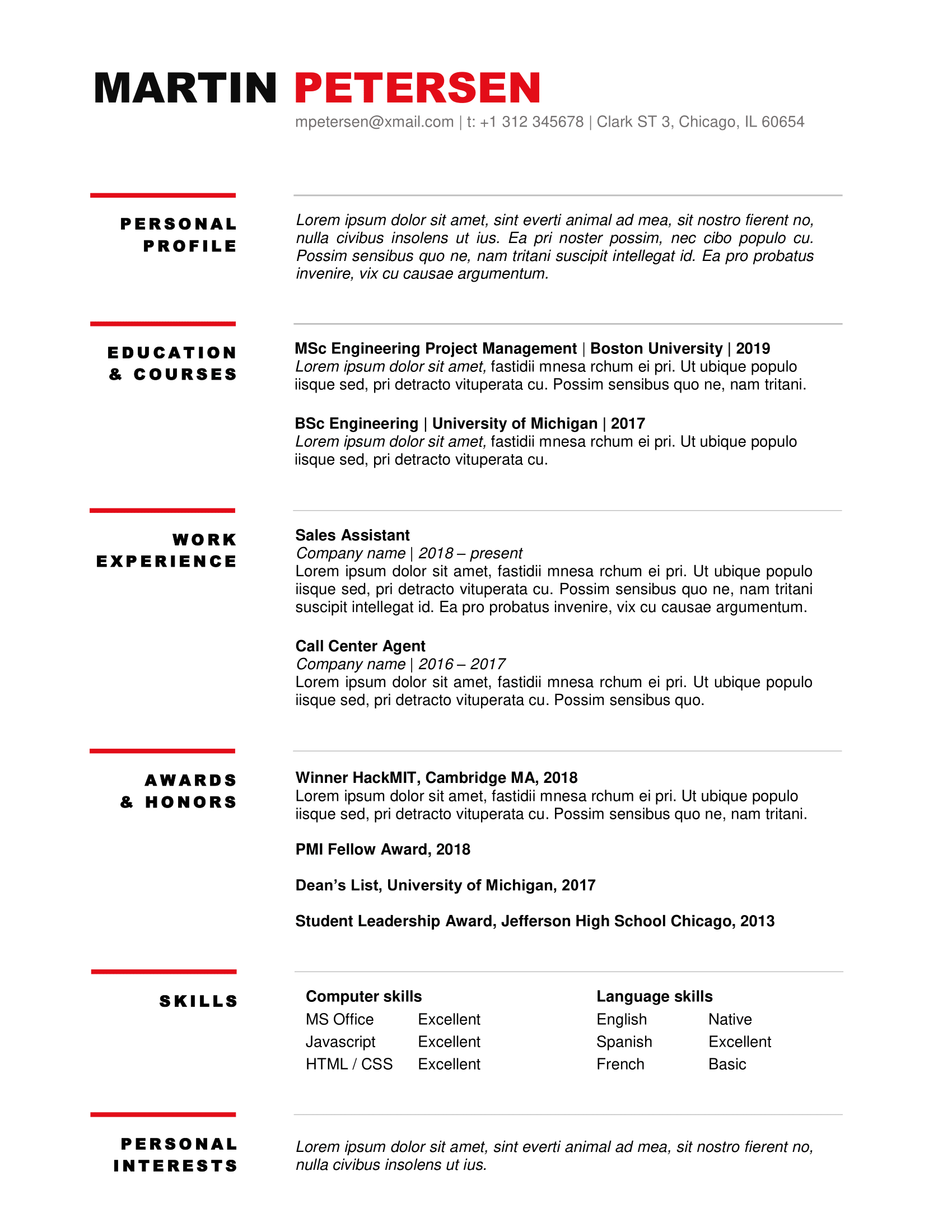 30++ Resume examples ms word ideas in 2021