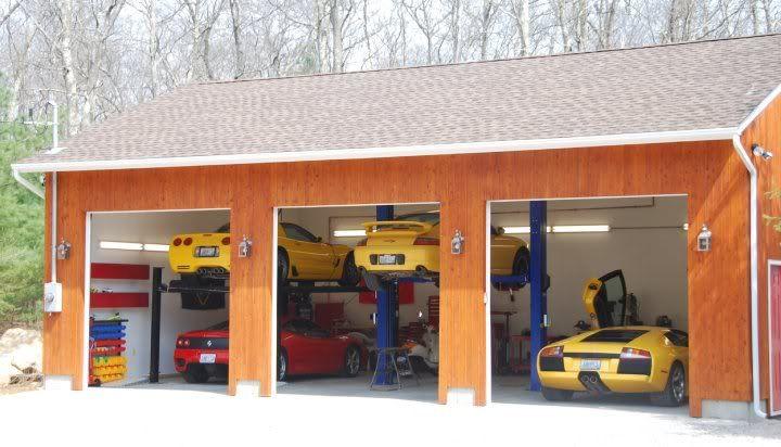 Garage Plans With Lift The Jalopy Journal Backyard Garage