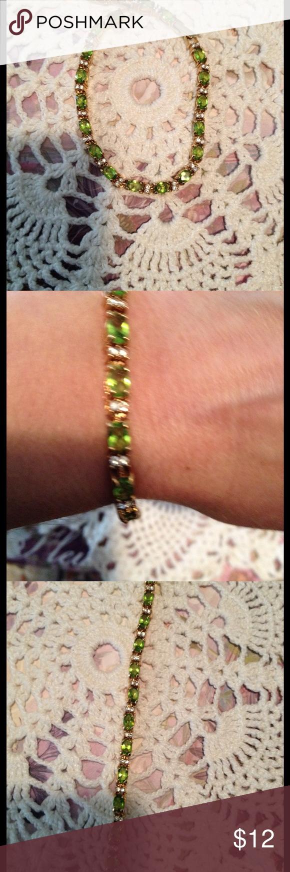 Avon birthstone bracelet avon gold tone birthstone tennis bracelet