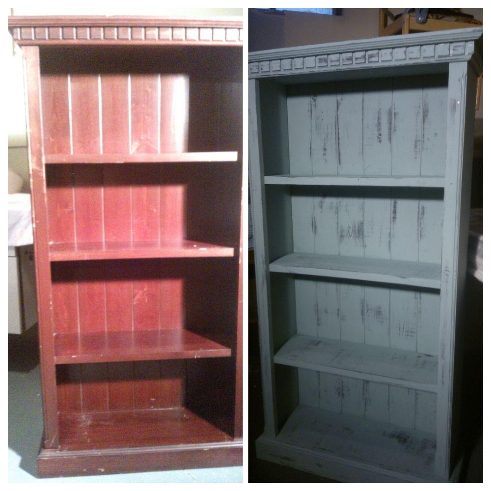 distressed bookshelf - Distressed Bookshelves