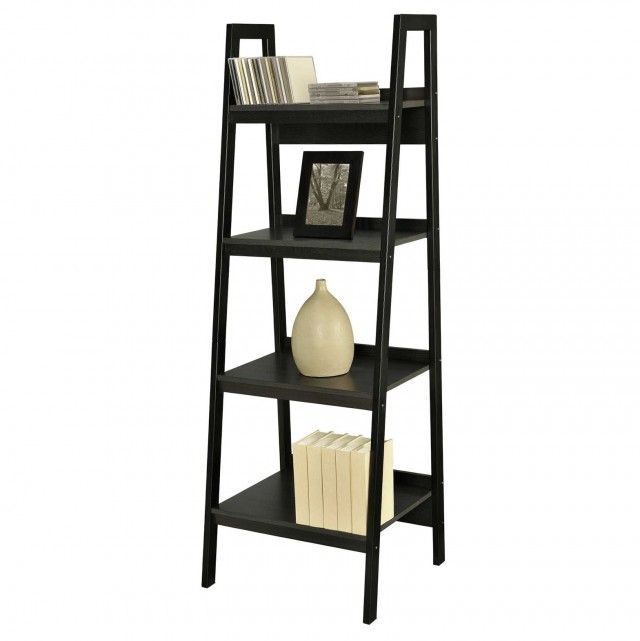 Corner Ladder Bookshelf Ikea Ideas For Small Living Room Stylishdecor Ladder Bookcase Ladder Bookshelf Ikea Bookshelf Design