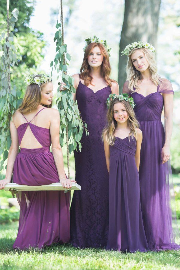Mix \'n\' Match Bridesmaid Dresses from Bari Jay