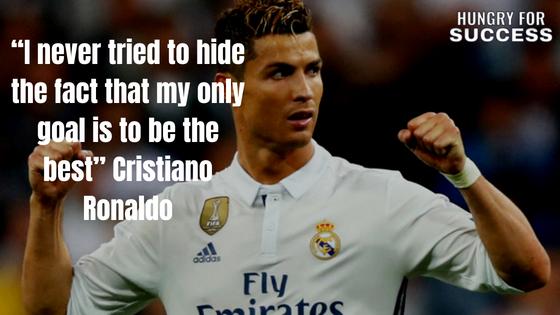 35 Inspirational Cristiano Ronaldo Quotes On Success