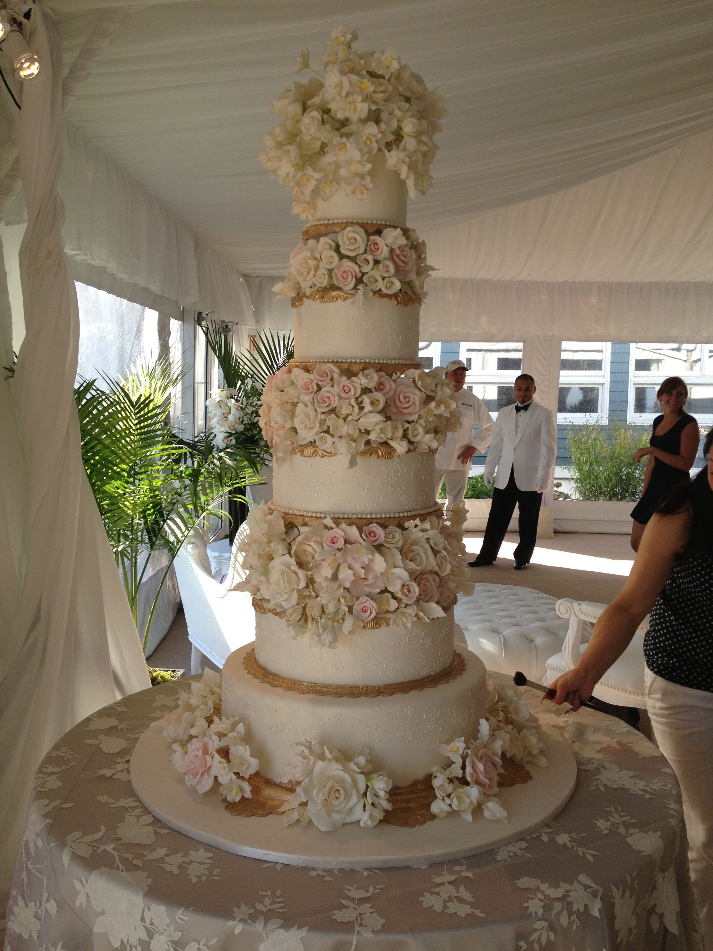 Custom Wedding Cake By Ana Parzych Cakes Www Anaparzychcustomcakes