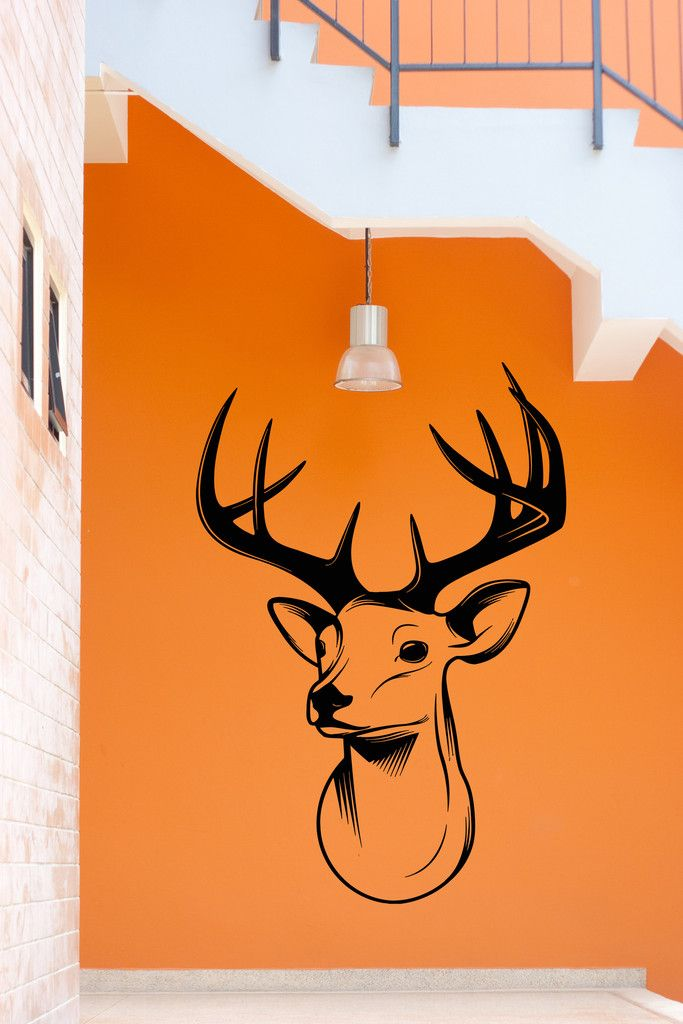 Vinyl Decal Wall Stickers Deer Hunt Hunting Hunter Decor For - Custom vinyl wall decals for garage