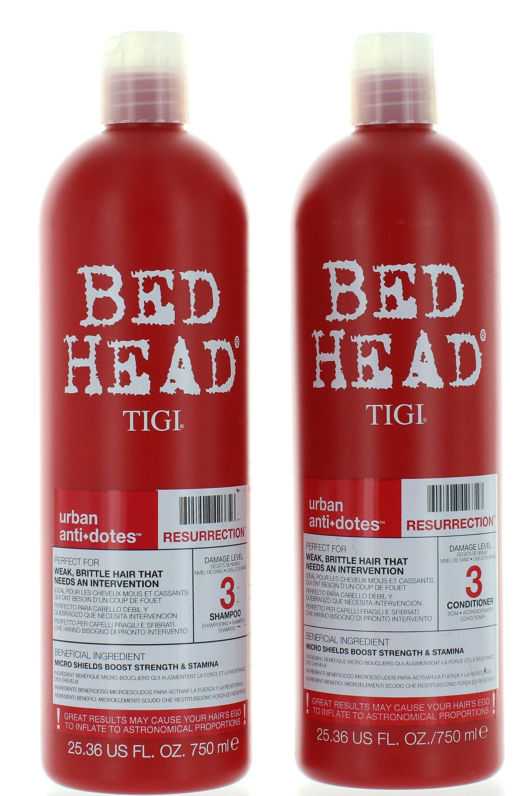 Tigi Bed Head Resurrection Shampoo Conditioner 25 36oz Set Find Out More About The Great Product At The Image Shampoo Shampoo And Conditioner Best Shampoos
