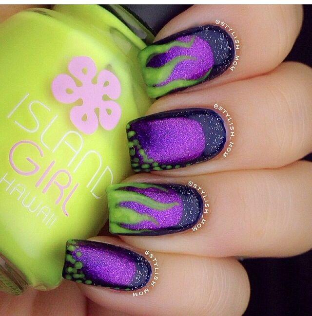 Pin by Cori Cunningham on Nail art | Pinterest | Disney nails ...