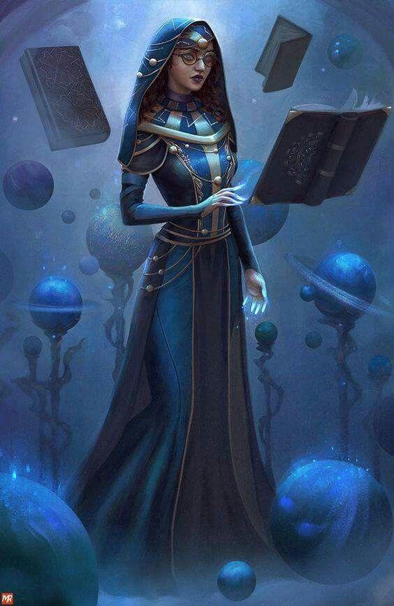 Photo of Wizard librarian, fantasy character inspiration  @rlinarts linromanov