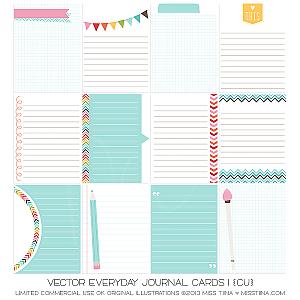 Everyday Journal Cards 1 ·CU·