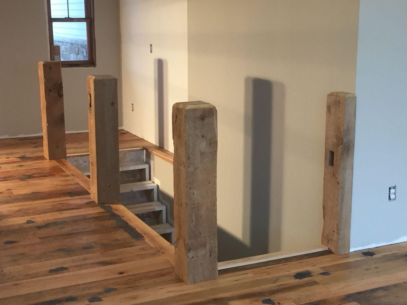 Best Rustic Barn Beam Stairs Reclaimed Rustic Oak Barn Wood 400 x 300