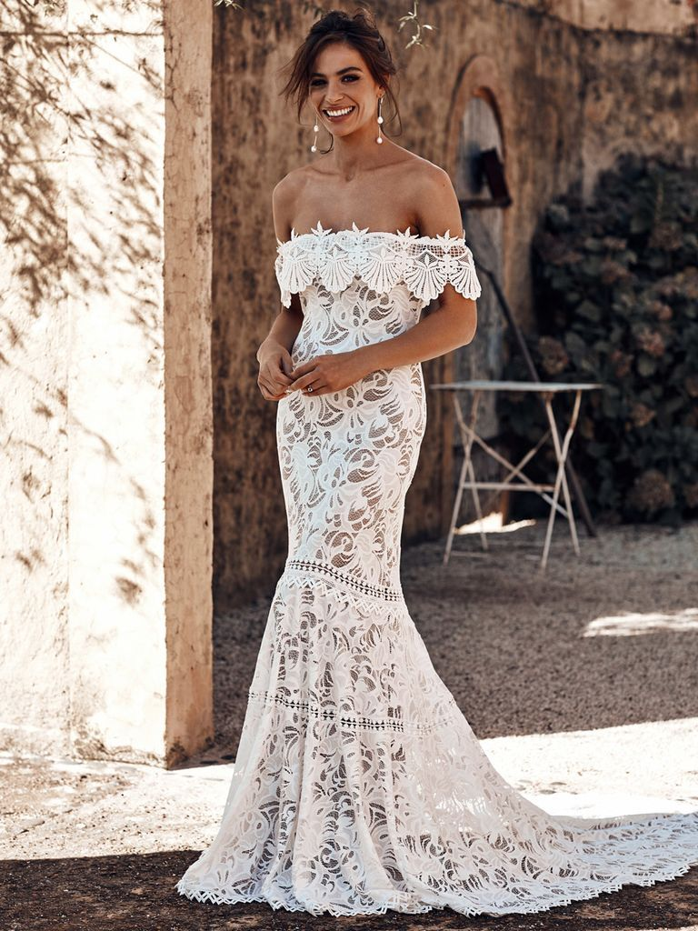 Grace loves lace wedding dresses inspired by iconic women