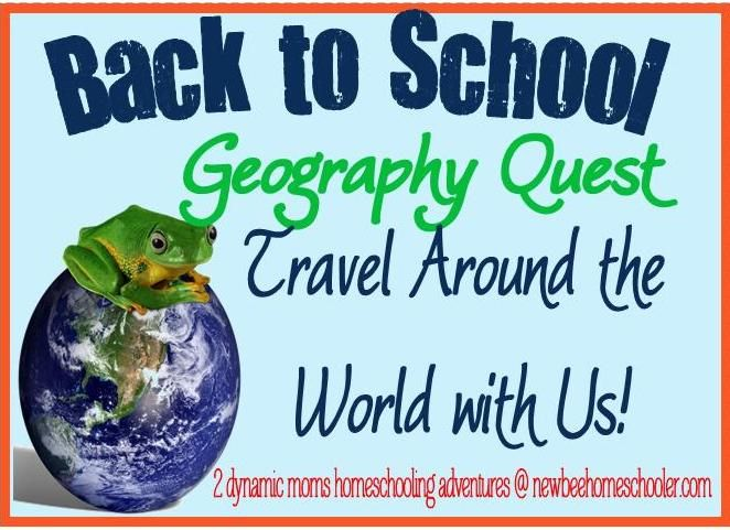 Not Back to School Geography Quest