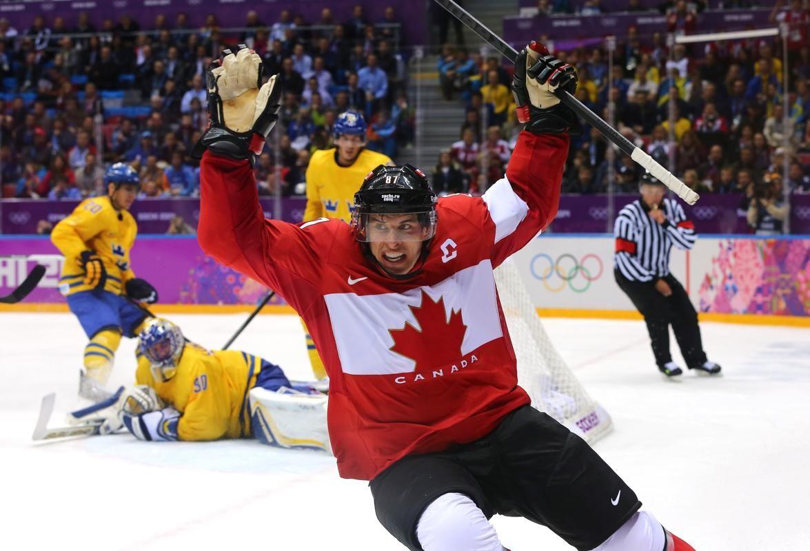 SOCHI, RUSSIA FEBRUARY 23 Sidney Crosby 87 of Canada