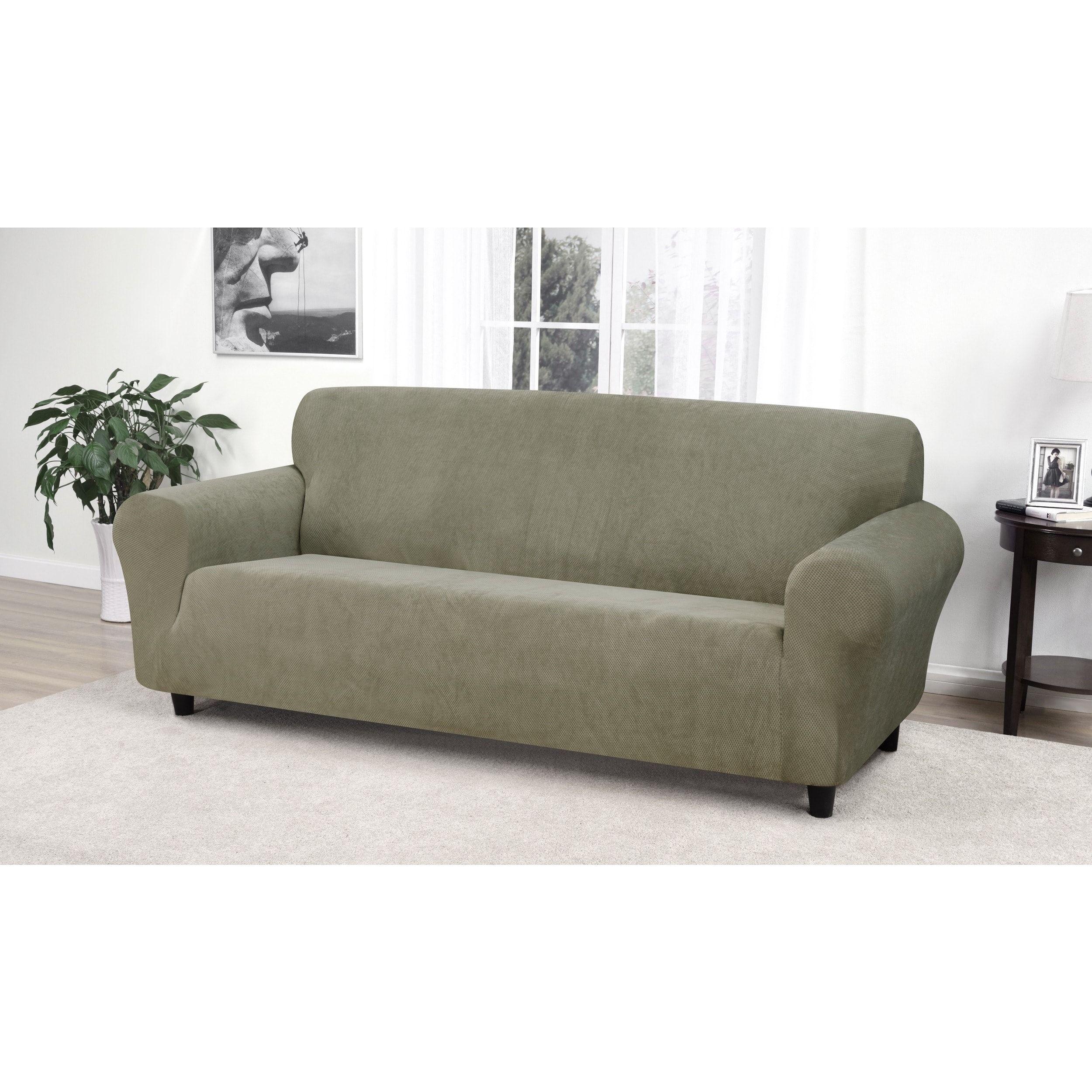 Kathy ireland day break sofa slipcover beige products