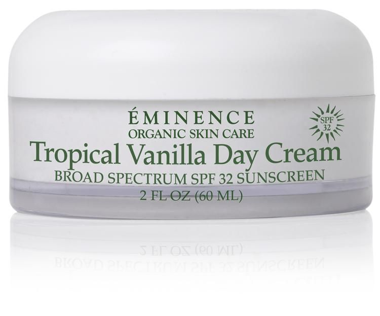 Tropical Vanilla Day Cream Spf 32 Eminence Organic Skin Care Natural Spf Organic Cleanser