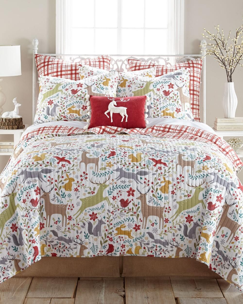 Best Alpine Valley Luxury Quilt Collection Christmas Holiday 400 x 300
