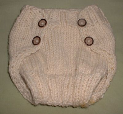 Free Crochet Diaper Soaker Pattern | this pattern will get you through all the diapering years