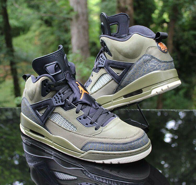 Nike Air Jordan Spizike Olive Canvas