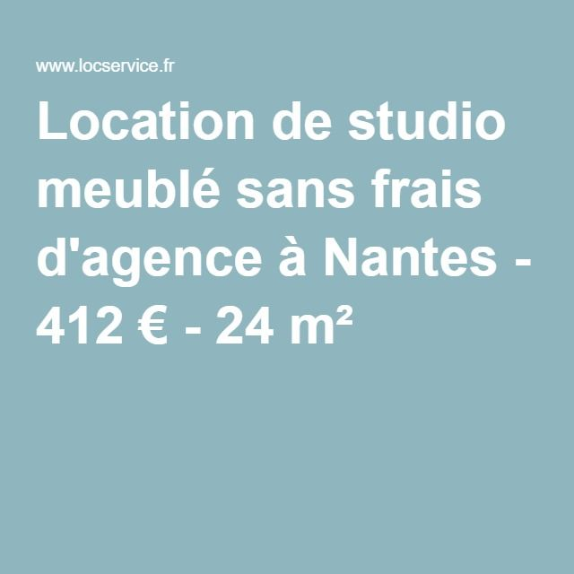 Location De Studio Meuble Sans Frais D Agence A Nantes 412 24 M Studio Meuble Location Studio