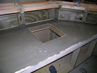 Outdoor Wet Bar  Concrete Countertops  Diy