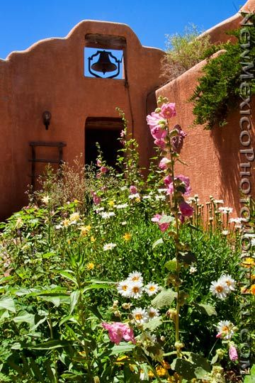 Pin By Hdi 19 On Southwest House With Images: A Summer Day At Ghost Ranch, In The Bell Tower Courtyard.
