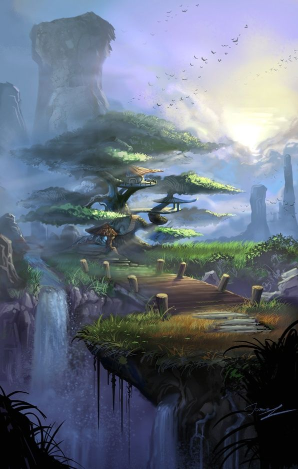 Fantasy landscape image by Mythical Worlds on magical ...