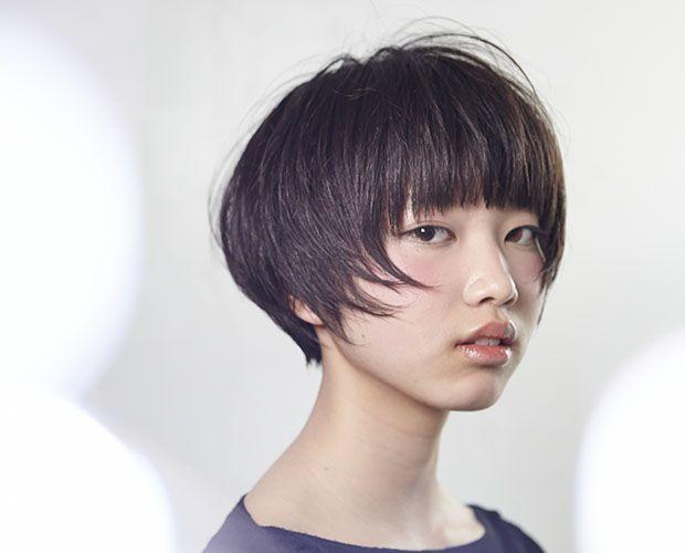 コンパクトなマッシュショートヘア Short 短い髪のためのヘア
