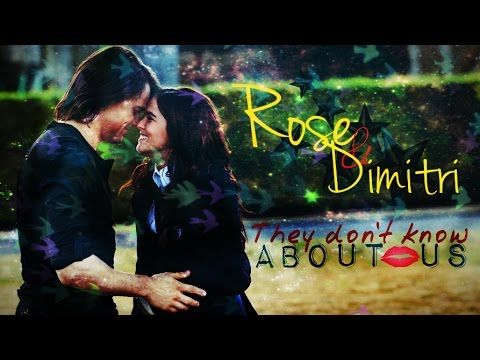 Rose & Dimitri; They don't know about us ♥♥