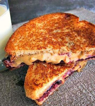 Do your kids love Peanut butter and jelly sandwiches? Treat them to this tasty, quick and easy-to make snack