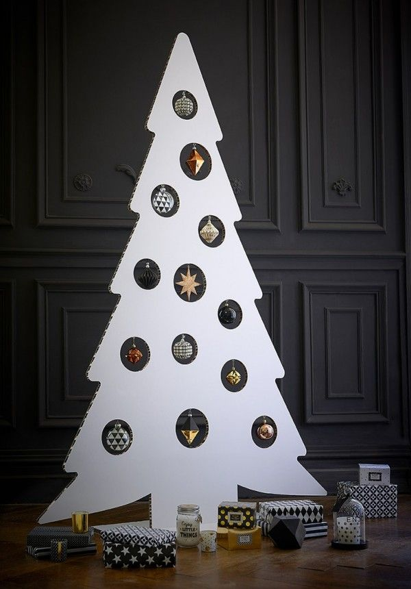 Decoration sapin noel moderne