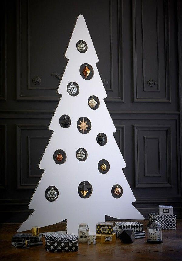 sapin noel moderne 6 Styles Différents de Décoration pour Sapin de Noël | Noel  sapin noel moderne