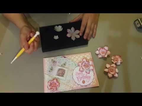 Easy Paper Flowers 3 Layers Youtube Easy Paper Flowers