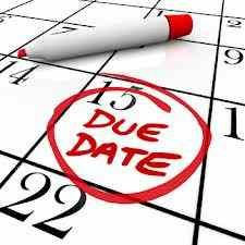 Date of conception based on due date in Australia