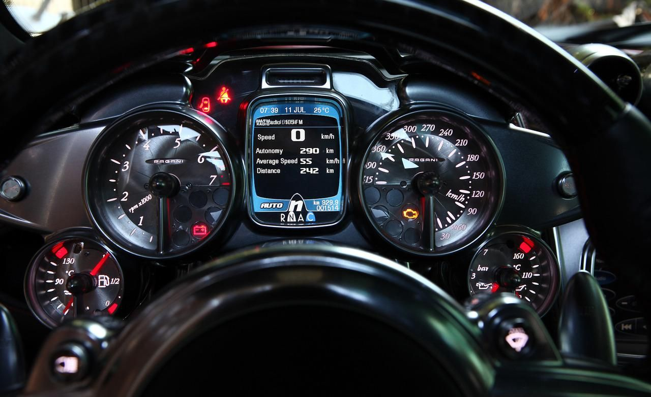 Pagani Huayra Dashboard Gift Idea For Him Pinterest