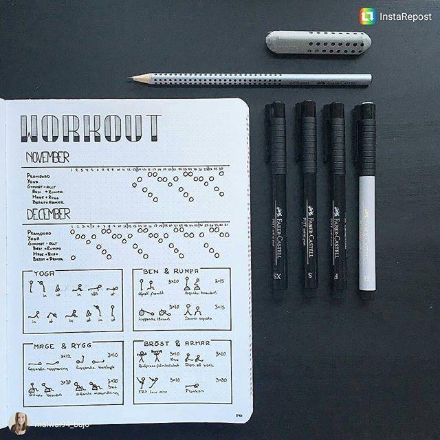 exercise schedule planner