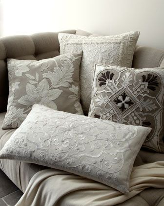 """aura"""" pillow groupcallisto home at horchow. very classy for"""