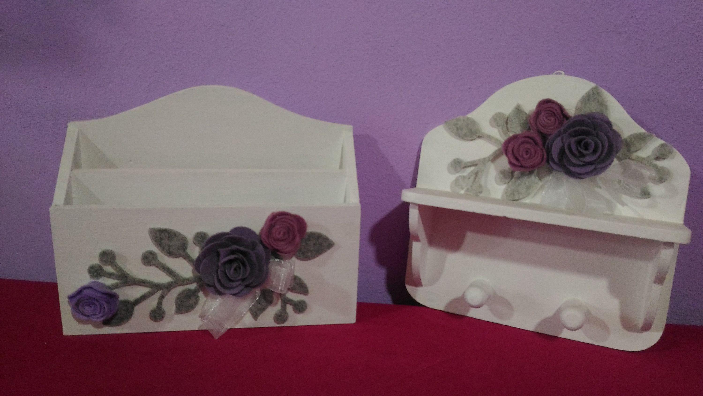 Lettere Da Appendere Al Muro set da appendere in cucina, set portaoggetti di legno da