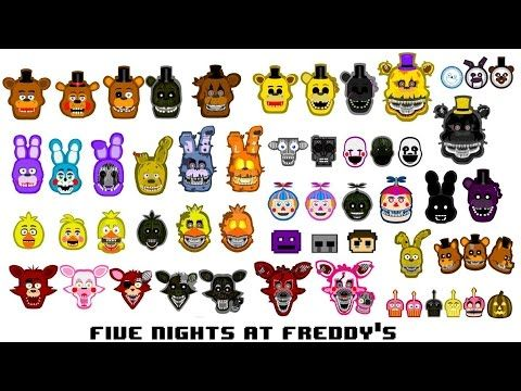 All FNAF Characters Sing The FNAF Song - YouTube | fnaf