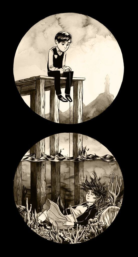 Art by Unknown | Community Post: 42 Truly Haunting Pieces Of Art