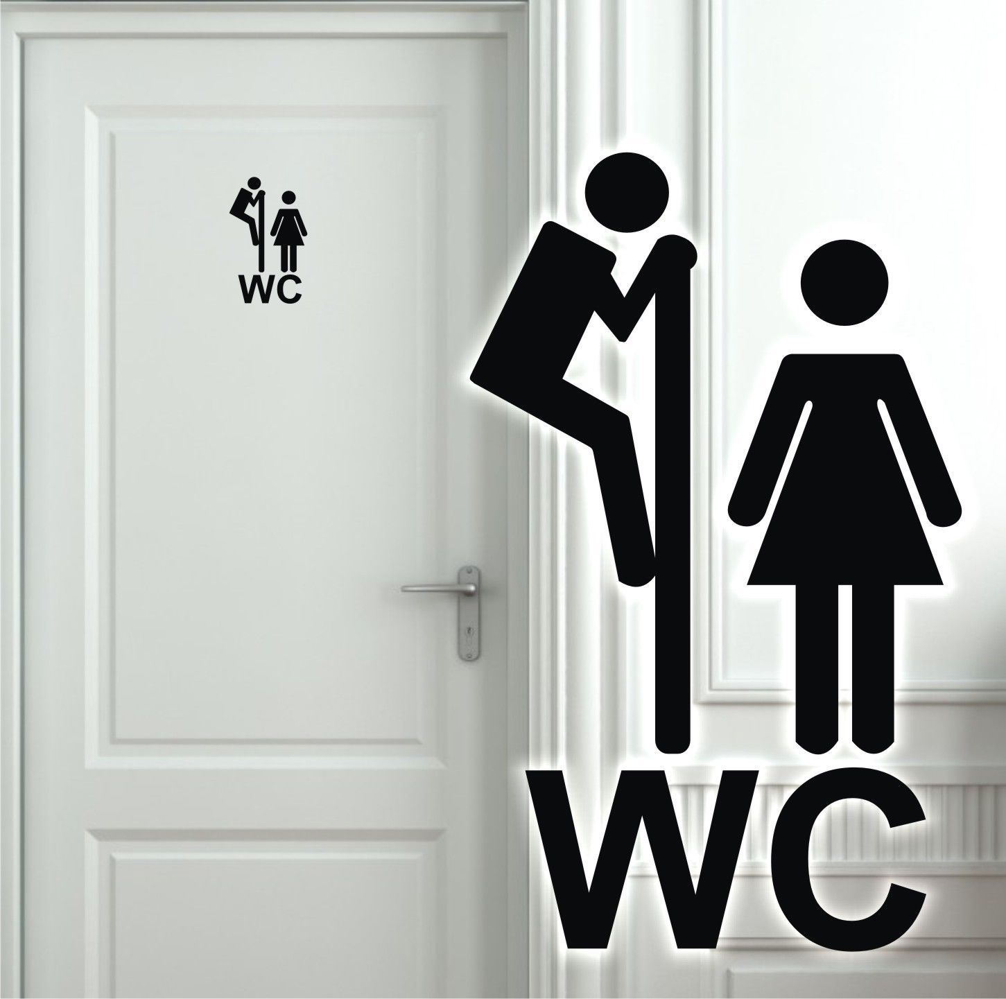 Wandtattoo Turaufkleber Wc Toilette Badezimmer Flur Aufkleber Tur Klo Spruche 5h Turaufkleber Wandtattoo Wandtattoo Spruche