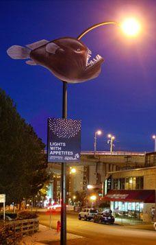 Clever banner - Vancouver Aquarium