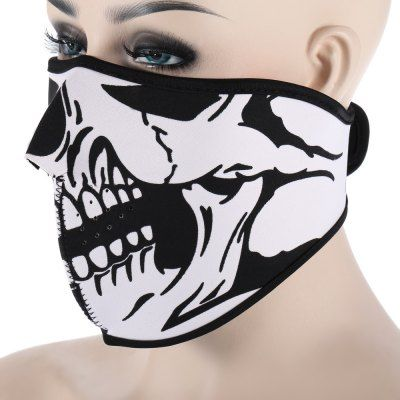 CS Skull Mask Windproof Face Guard for Outdoor Cycling #hats, #watches, #belts, #fashion, #style