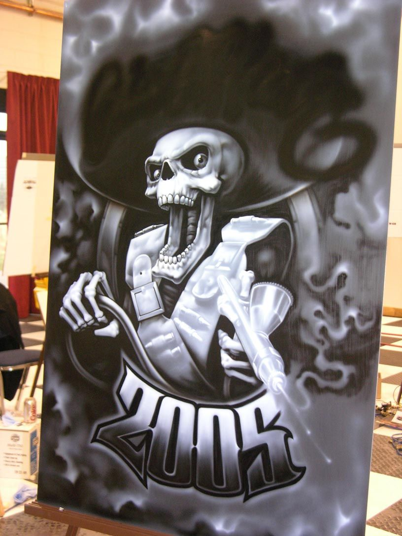 Chicano Airbrush Art