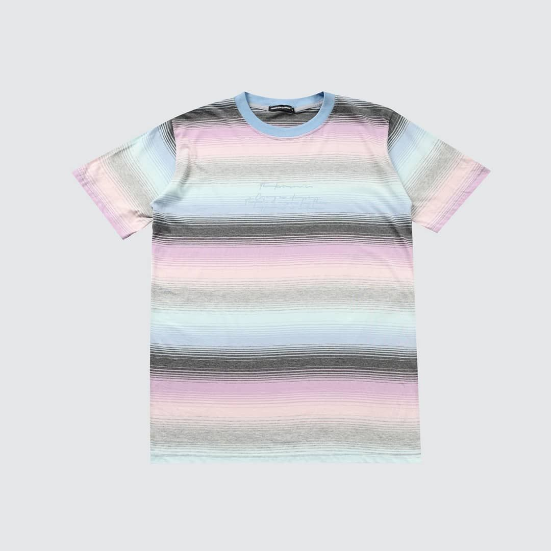 kok jd ngidam kaos ni y tees ephraim striped pink baby blue unisex size s m l rp 130 000 exc shipping stripe tshirt baby pink workout shorts pinterest ie