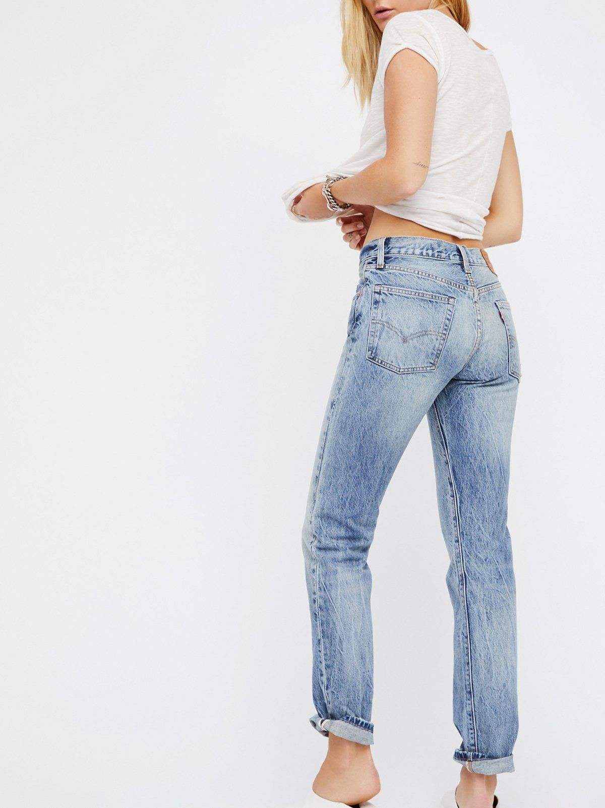 ae77dec591c Levi's Mile High Super Skinny | Fitting slim through the hips and thighs  these skinnes are the perfect fit for that long & leggy look. * Extra high  rise ...