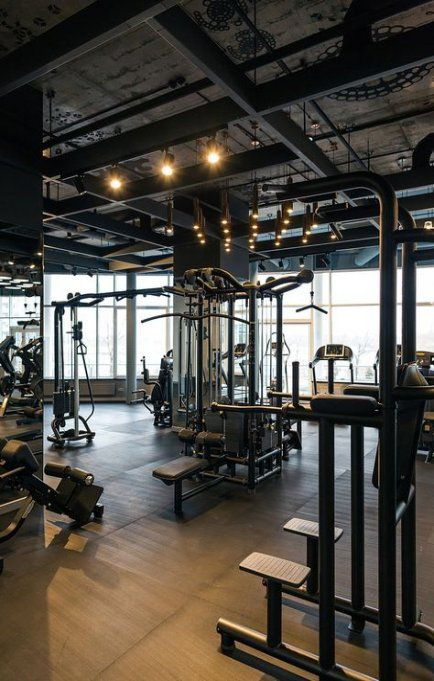 Trendy fitness gym interior design ceilings Ideas #fitness #design