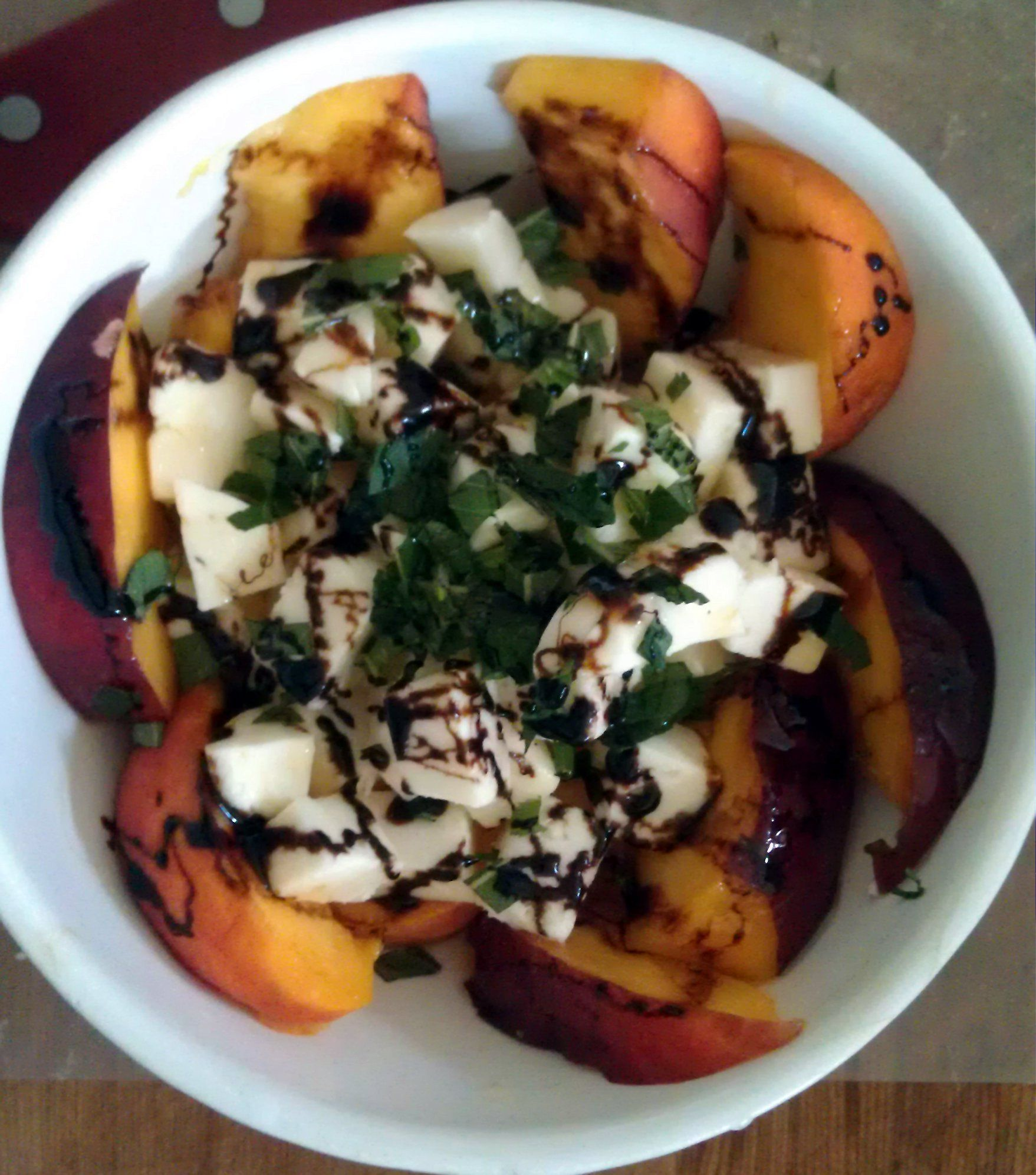 Jimmes peach mozz salad1