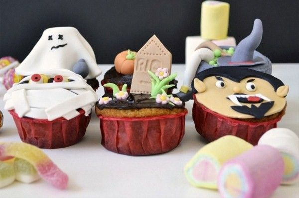 Muffins Decorating Ideas For Halloween