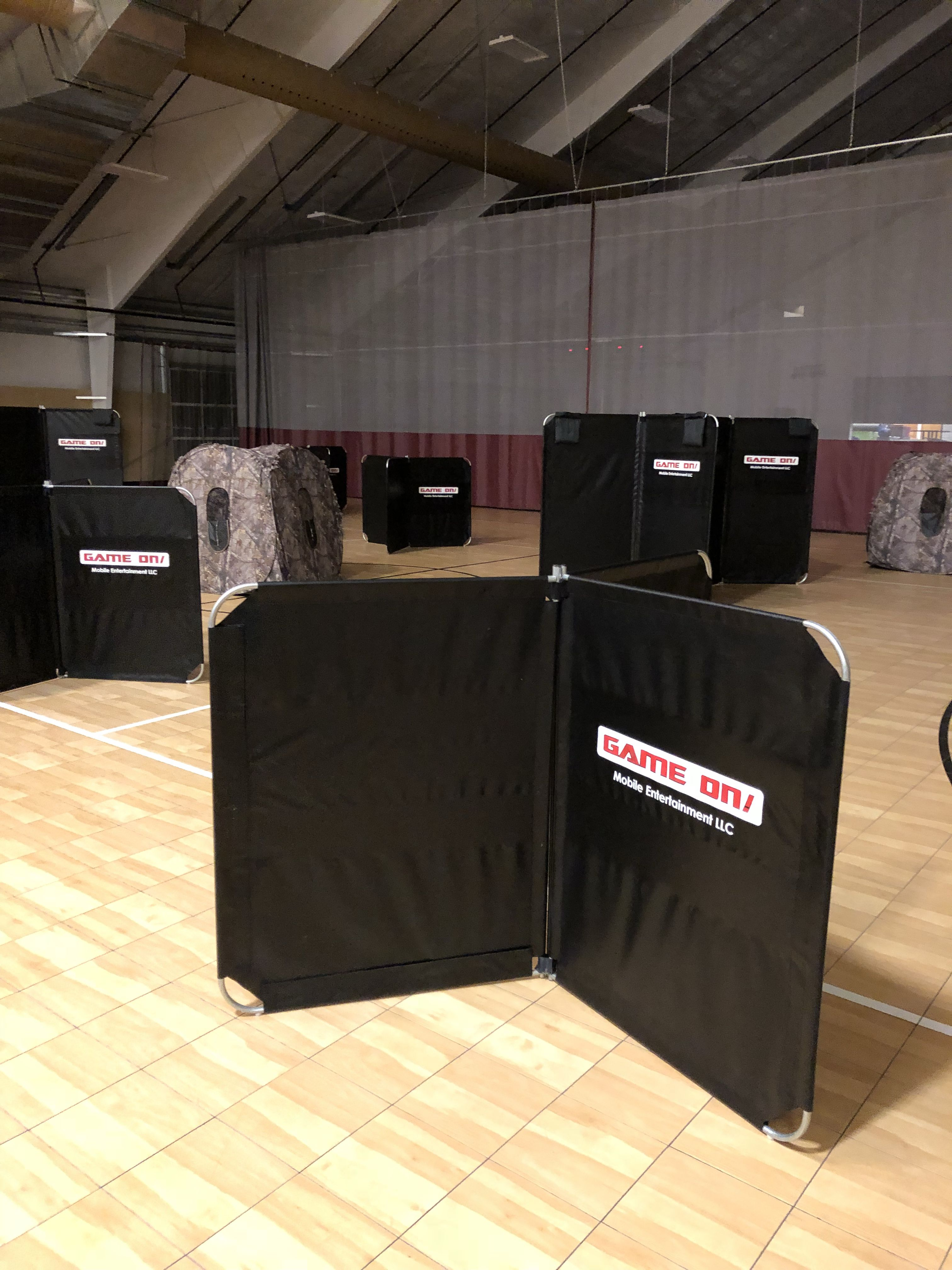 Check Out Our New Laser Tag Barriers They Give You A Whole New Experience With Tactical Laser Tag Book Your Mobile Laser Tag Party Laser Tag Tactical Laser