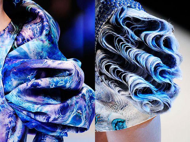 McQueen - sea life in couture